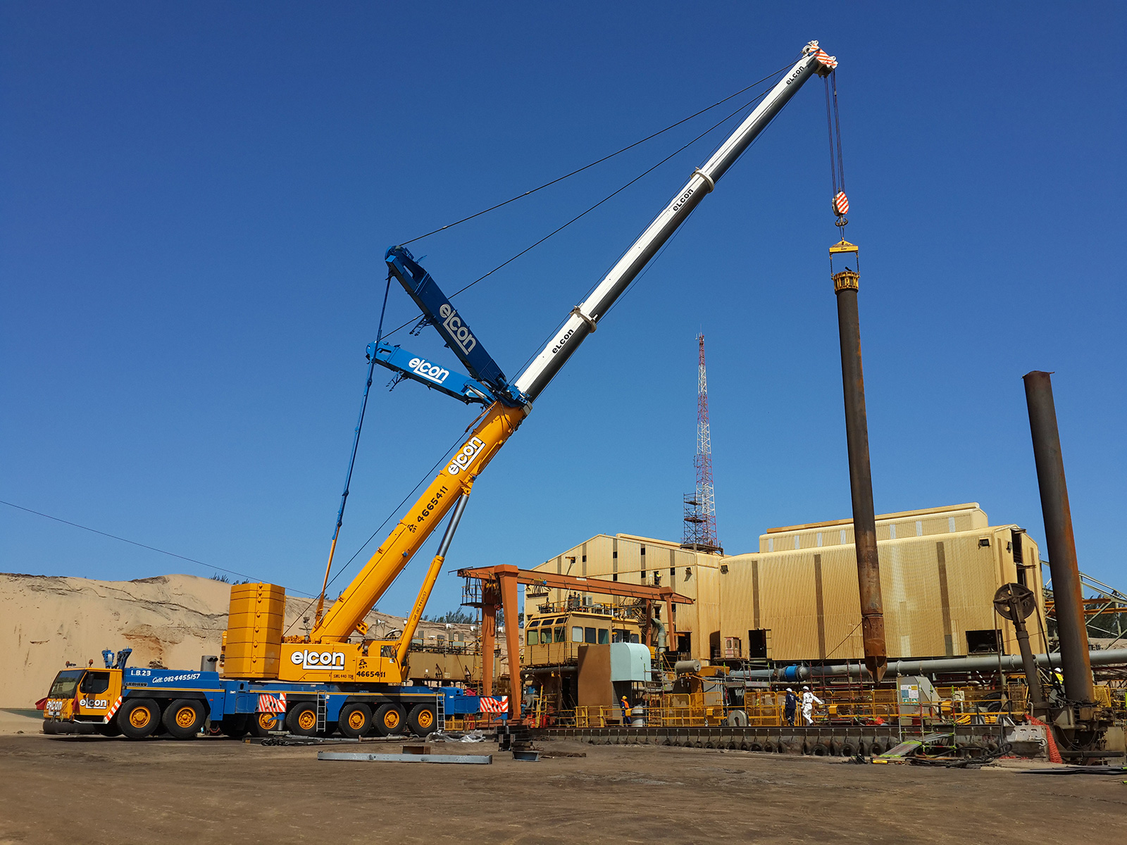 Mobile Heavy Lift Crane